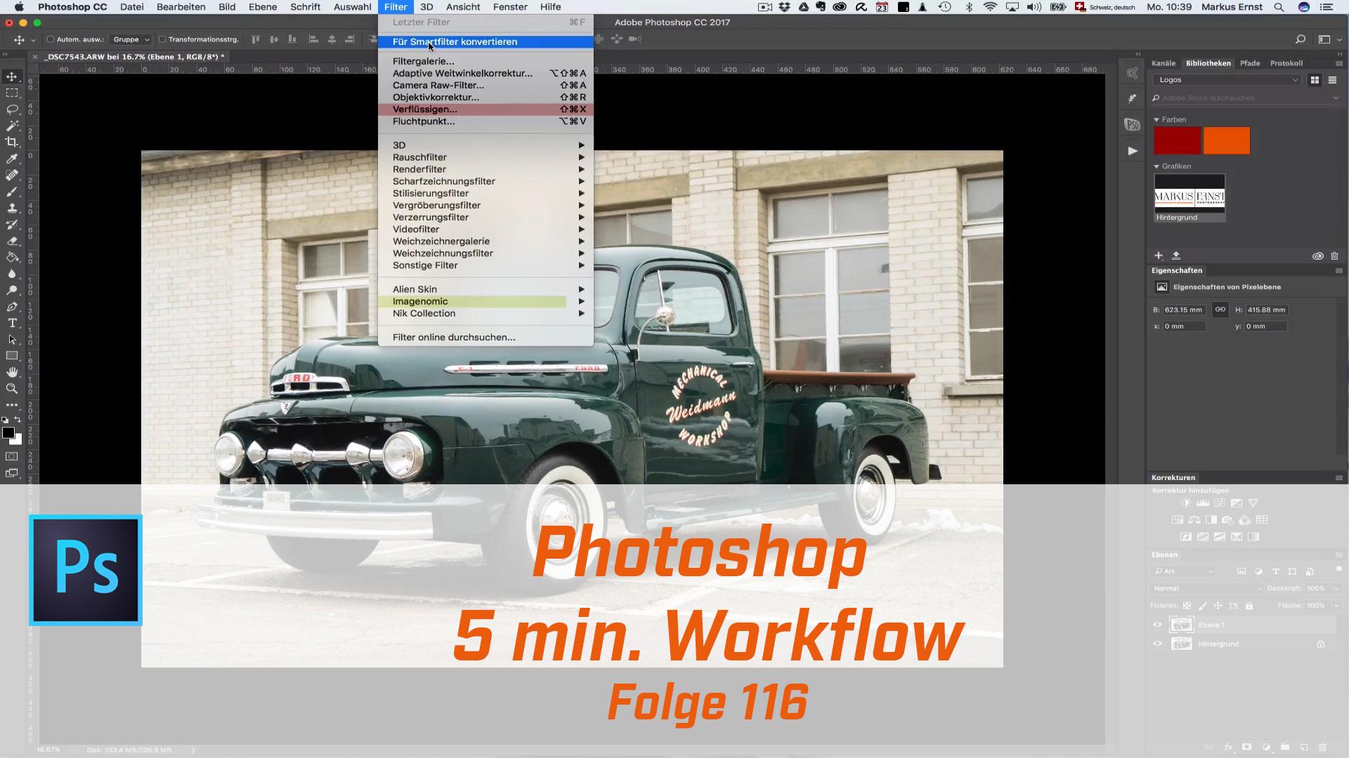 Photoshop 5 min Workflow