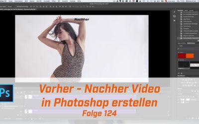 Vorher-Nachher Video in Photoshop erstellen