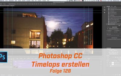 Adobe Photoshop Timelaps erstellen