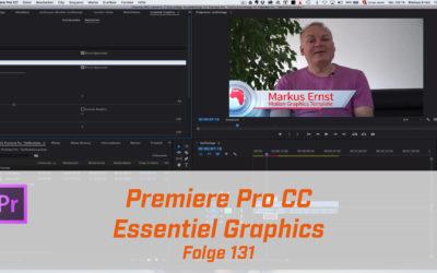 Premiere CC Essentiel Graphics