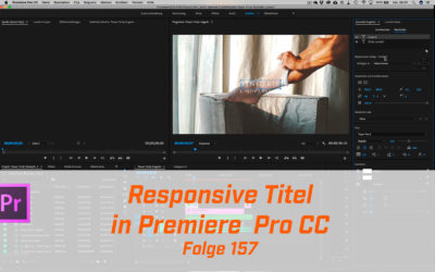 Responsive Titel in Premiere CC 2018 erstellen