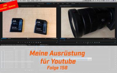 Meine Ausrüstung für Youtube