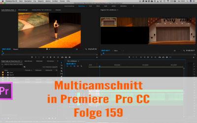Multicamschnitt in Premiere Pro CC