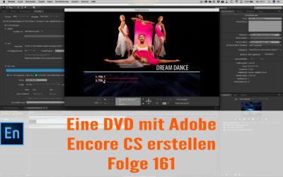 Einfach eine DVD mit Adobe Encore CS erstellen