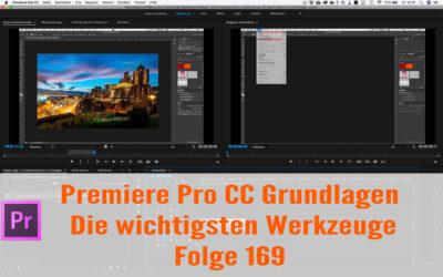 Premiere Pro CC Anfänger Tutorial : Die wichtigsten Werkzeuge
