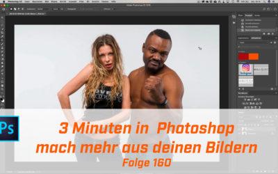 3 Minuten Photoshop ; Mach mehr aus deinen Bildern.