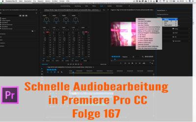 Schnelle Audiobearbeitung in Premiere Pro CC