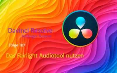 Davinci Resolve Anfänger Tutorial Das Fairlight Audiotool nutzen