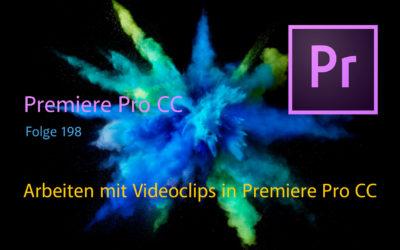 Arbeiten mit Videoclips in Premiere Pro CC