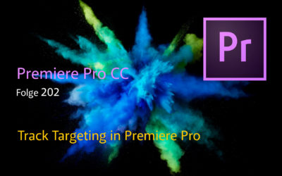 Track Targeting in Premiere Pro CC