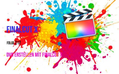 DVD erstellen mit Finalcut Pro X