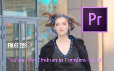 Tracken von Effekten in Premiere Pro CC
