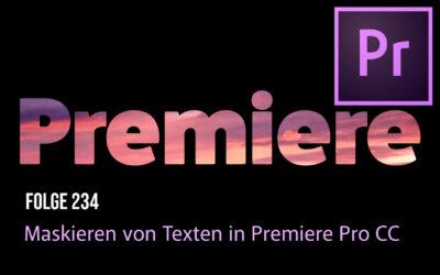 Maskieren von Texten in Premiere Pro