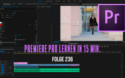 Adobe PREMIERE PRO CC 2019 Einstieg in nur 15 MINUTEN – Tutorial Deutsch