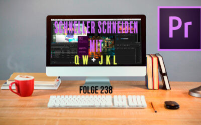 Schneller Schneiden in Premiere Pro CC mit 5 Keyboard Shortcuts