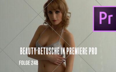 Beautyretusche in Premiere Pro