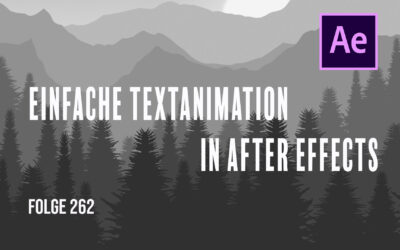 Textanimation in After Effects