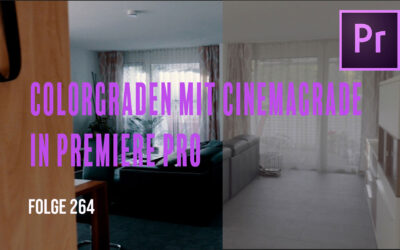 Colorgraden mit Cinemagrade in Premiere Pro # Folge 264