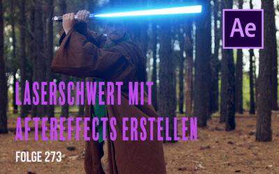 Laserschwert mit Aftereffects erstellen # Folge 273