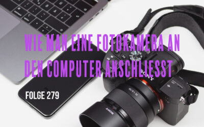 Wie man eine Fotokamera an den Computer anschliesst # Folge 282
