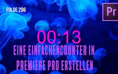 Einen Counter in Premiere Pro erstellen# Folge 286