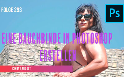 Eine Bauchbinde in Photoshop erstellen # Folge 293