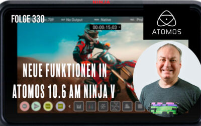 Neue Funktionen in Atomos 10.6 am Ninja V # Folge 330