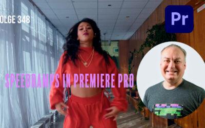 Speedramps in Premiere Pro # Folge 348