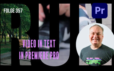 Video in Text in Premiere Pro # Folge 357